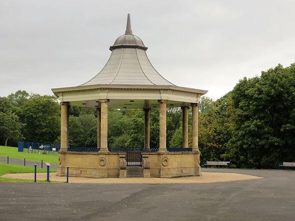 banstand lister park Bradford UK