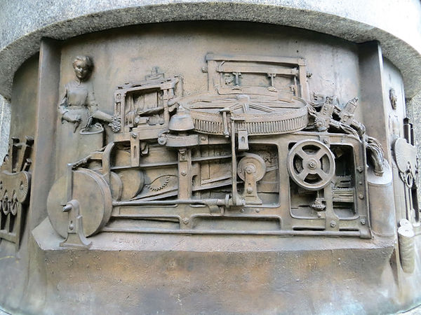 Samuel Lister Noble Comb plaque