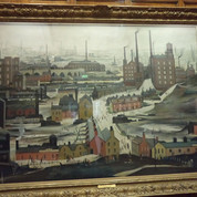LS Lowry picture Cartwright Hall