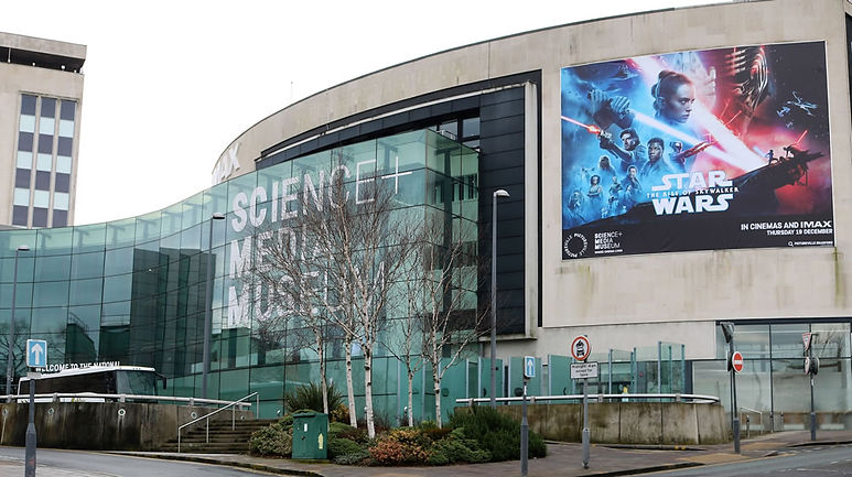 Science and media museum Bradford West Yorkshire