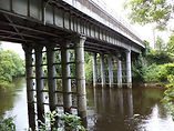Bridge accross River Aire