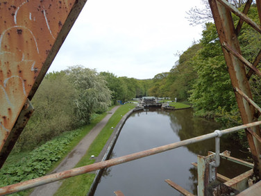 View from Iron Railway Bridge