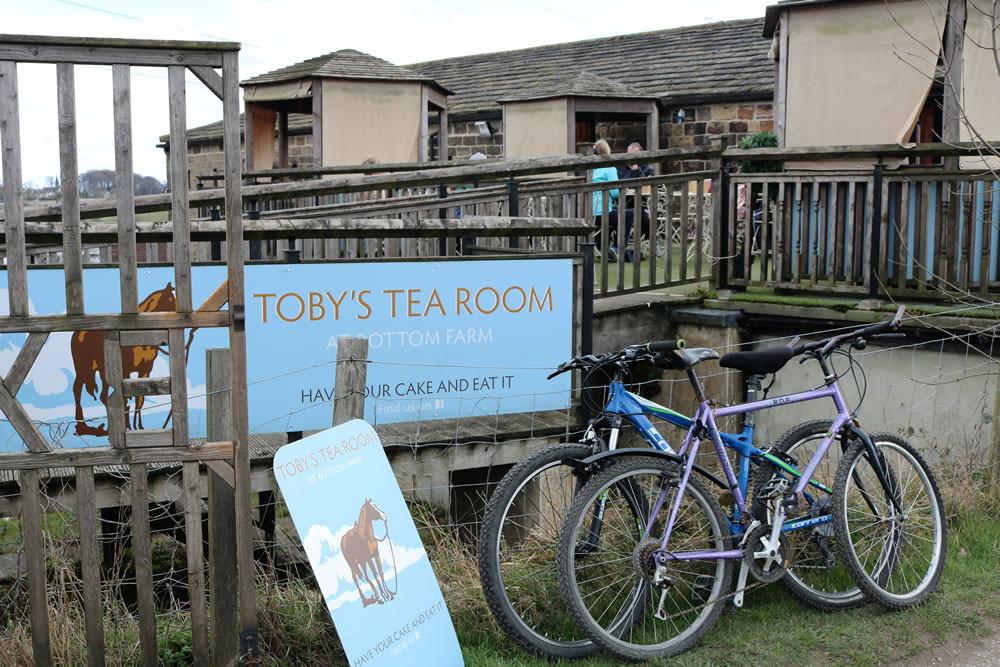 Tobys Tea Room  Bottom Farm, Dobson Lock, Apperley Bridge, Esholt