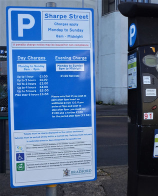 Bradford media museum car park prices