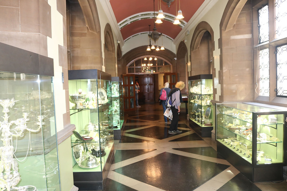 Bradford city hall silver collection.