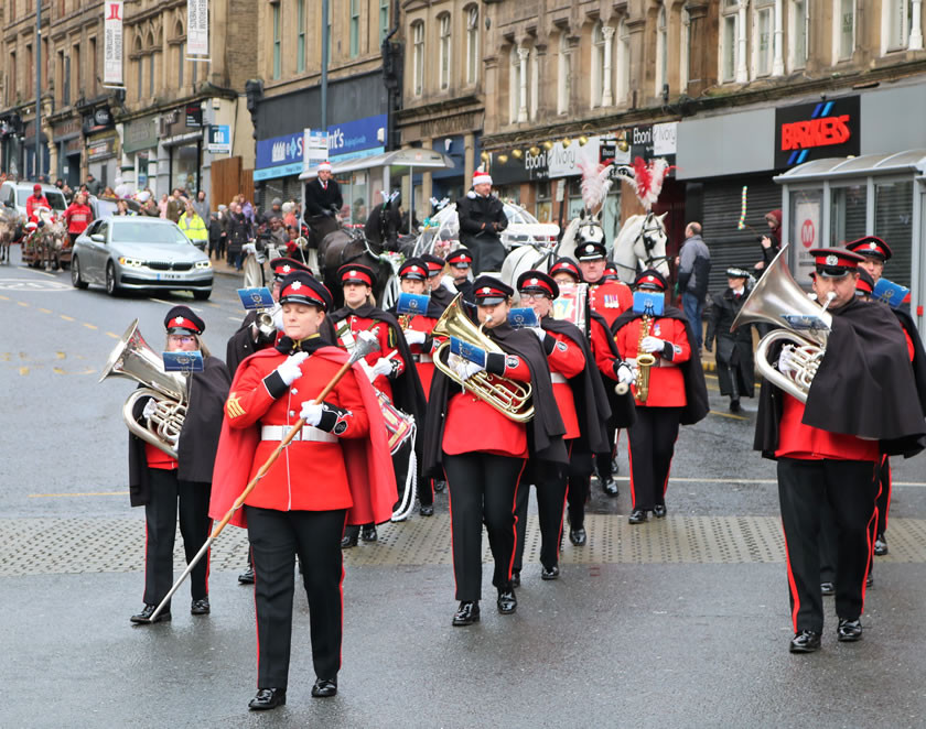 West Yorkshire fire brigade band