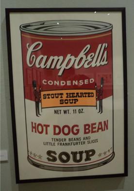 Andy Warhol soup print
