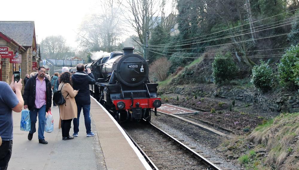 loco 45212 .haworth