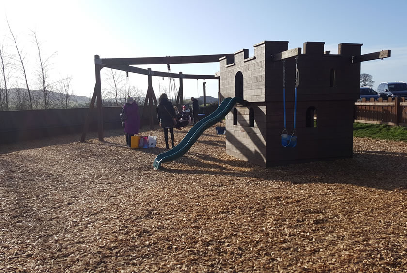 Outdoor play Billy Bobs Skipton