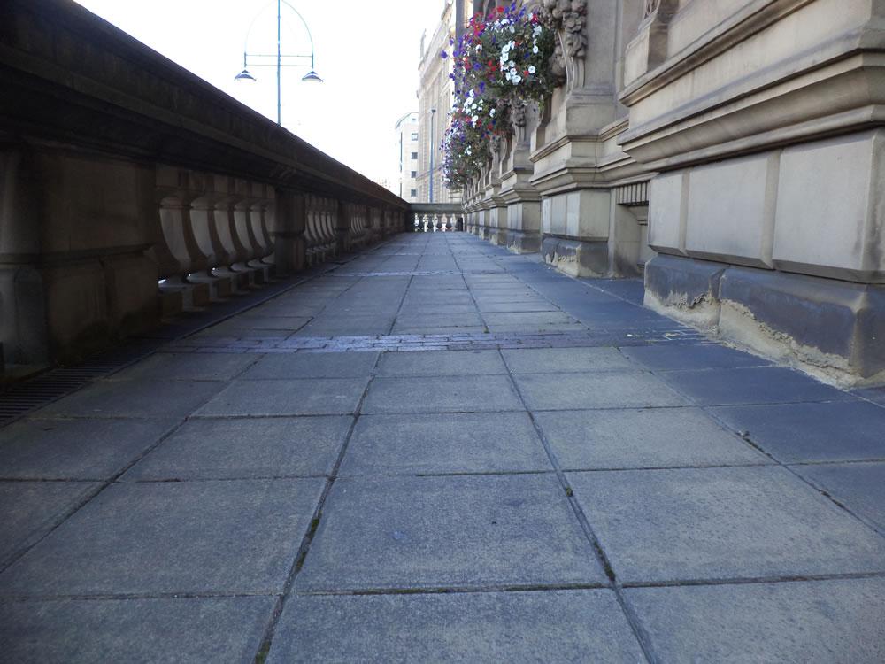 St Georges Hall walkway