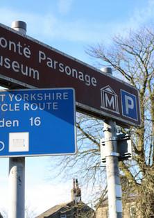 Haworth parsonage sign