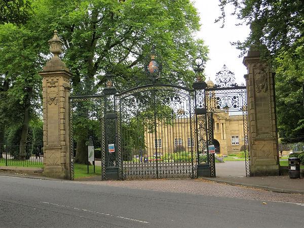 neo-Baroque style gates