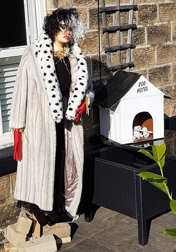 Third Prize #13 - Cruella De Vil - scarecrow