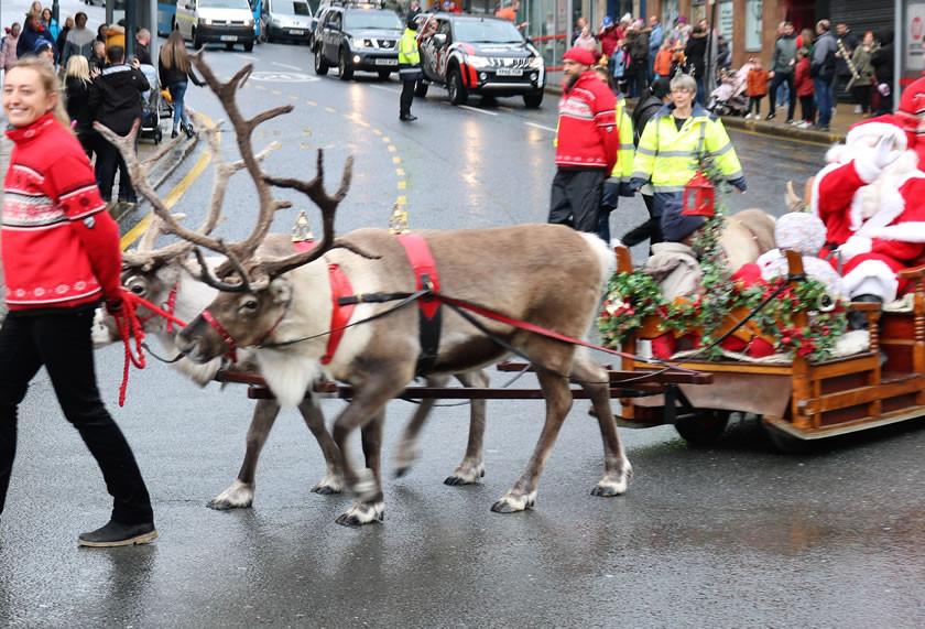 Reindeer Parade Sunbridge Road Bradford 2019