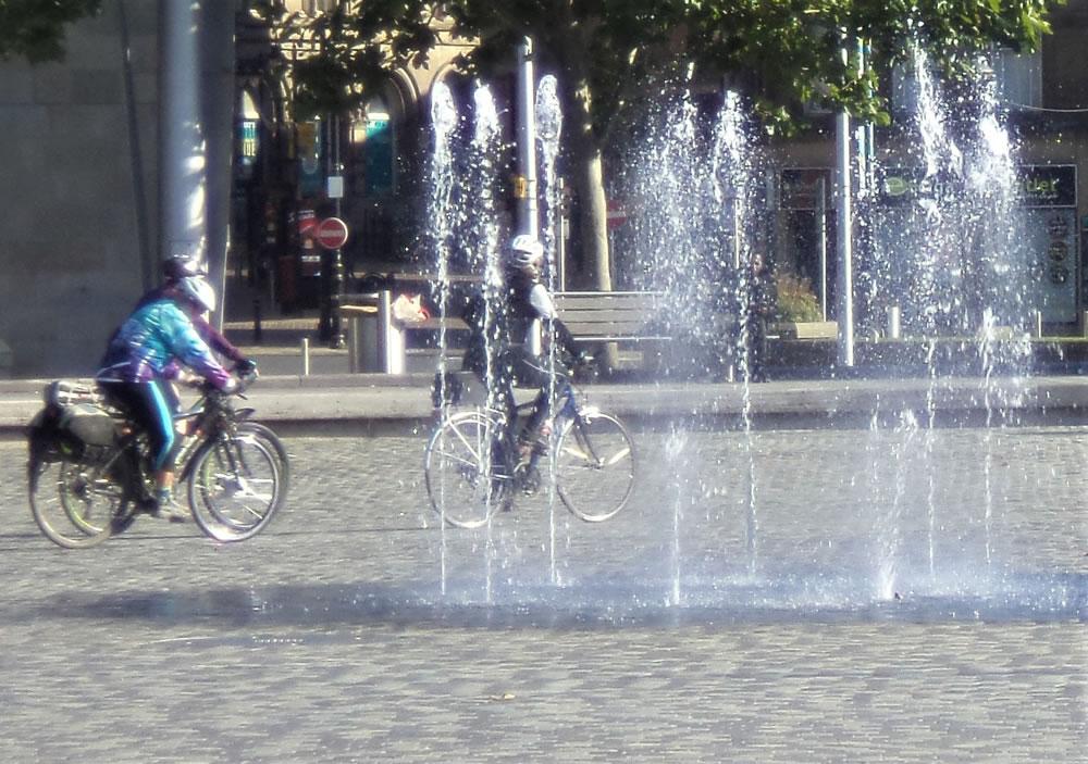 Bikes Mirror Pool