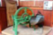 Horse chaff cutter and horse fodder meas