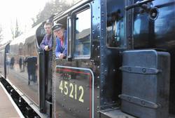 Steam locomotive 45212