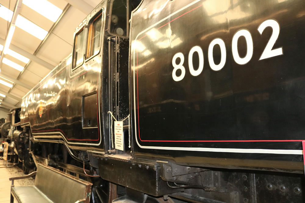 BR standard 2-6-4T tank engine 80002