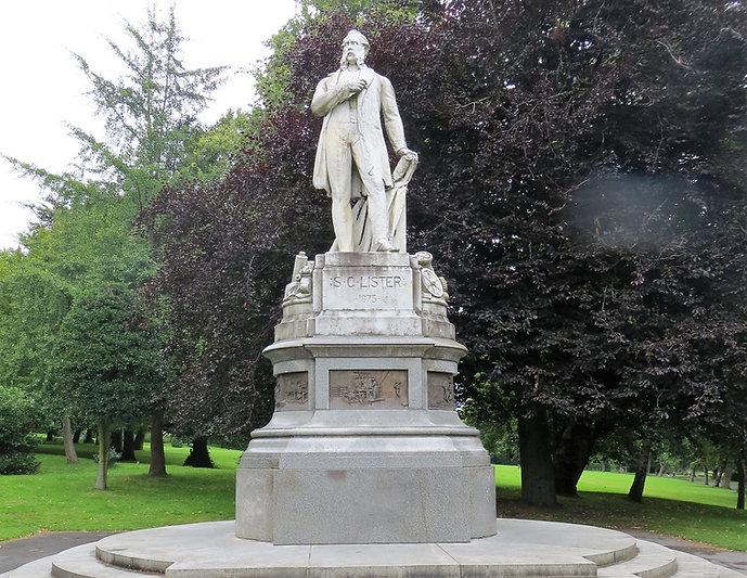 Samuel Cunliffe Lister statue