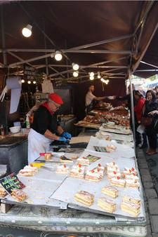 Continental market Saltaire festival