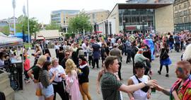 Crowds Bradford Pride