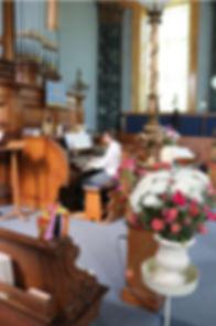 saltaire church organ