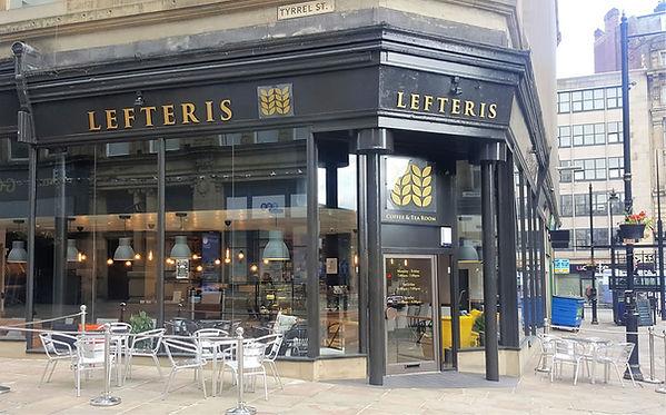 Lefteris coffee Shop Bradford