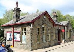 Oxenhope station building