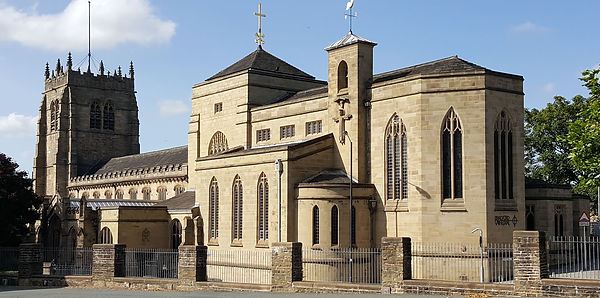 Bradford Cathedral  Little Germany UK