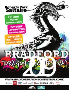 Dragonboat festival Roberts Park Saltaire 2019