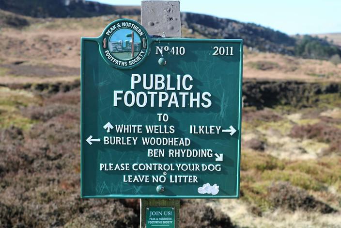 Ilkley moor footpath sign.jpg