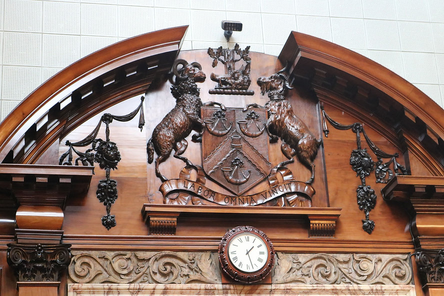 Bradford coat of arms city hall
