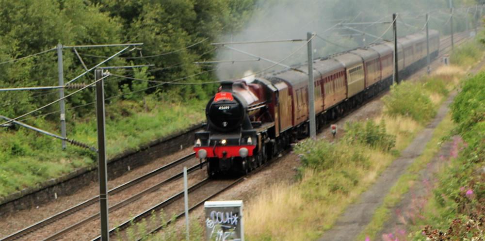 The Waverley' - 11th Aug 2019- LMS no 45699 'Galatea' - York to Carlisle
