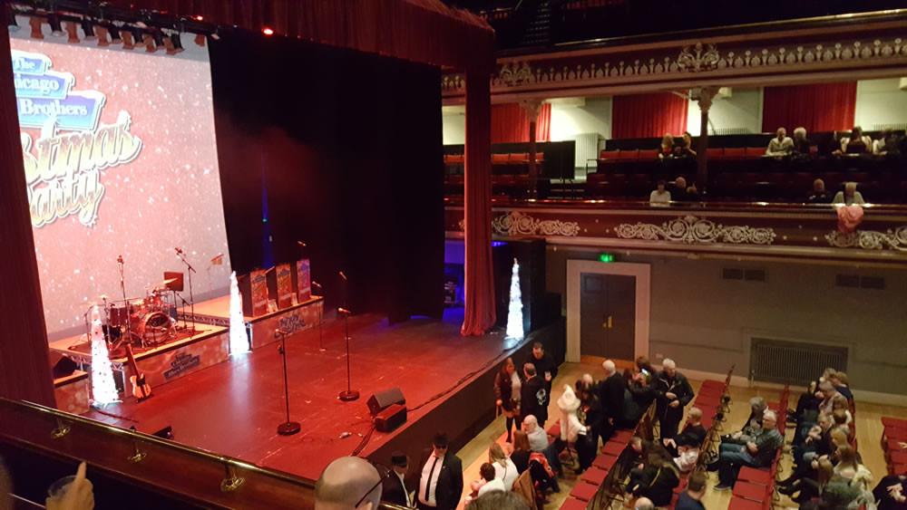 St Georges hall Bradford auditorium