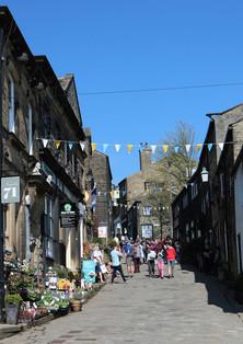 haworth cobbled street