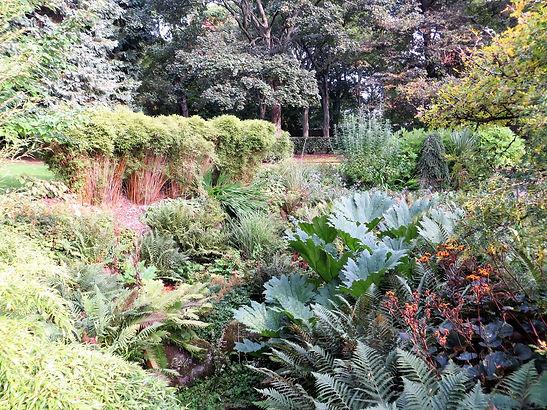 sensory garden lister park Bradford UK