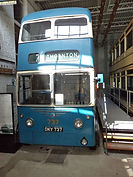Bradford trolly bus Thornton UK