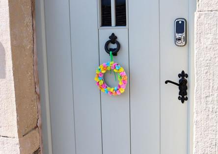 house door on Haworth mainstreet