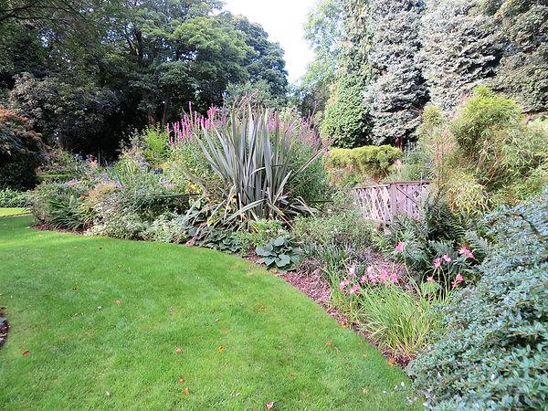 sensory garden flower bed bradford
