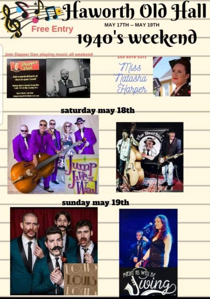 Haworth Old Hall 1940s events