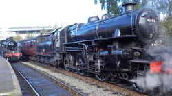 Steam locomotive BR 43106