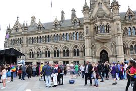 city Hall Bradford Pride