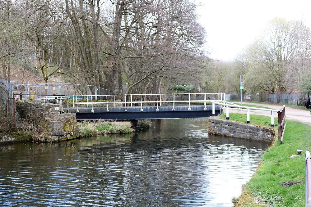 Strangford Swing Bridge No 211B  Esholt Sewage Works Basin