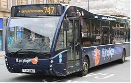 Bradford flying tiger bus 747