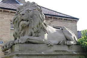 Saltaire lion war