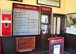 Haworth station ticket office