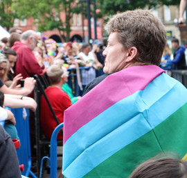 Gay Pride Bradford flag