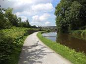Canal towpath Bingley