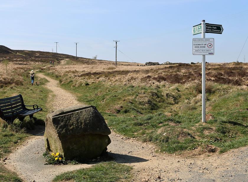 Walk to penistone hill