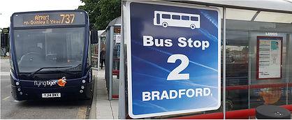 Bradford flying tiger bus 737